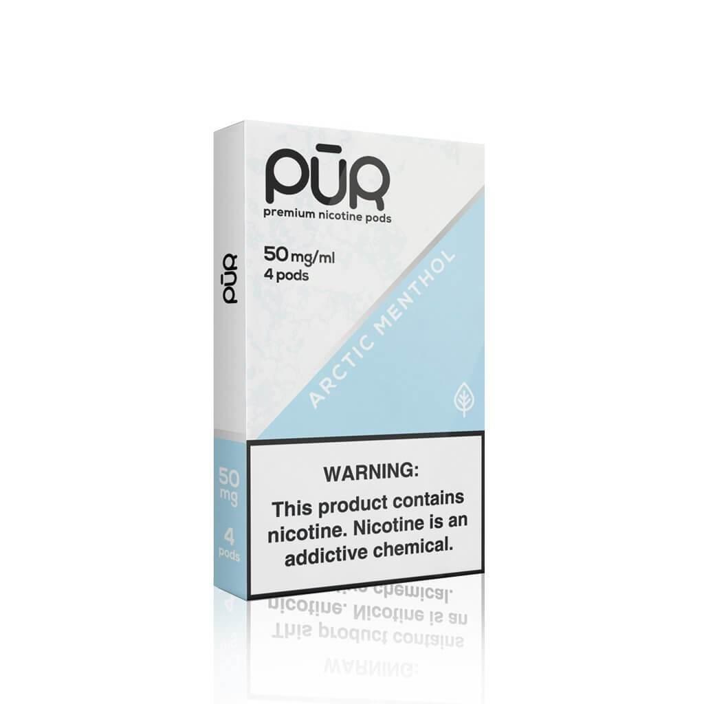 Juul Pods (4 Pack) | Menthol | 5% de Sales de Nicotina [Pur] | Apegos Perú