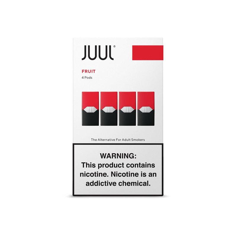 Juul Pods (4 Pack) | Fruit Medley | 5% de Sales de Nicotina [Juul] | Apegos Perú