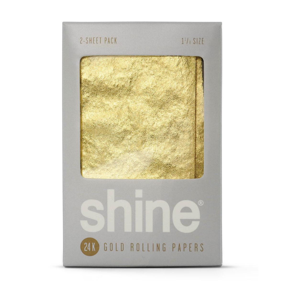 Papeles de Oro (1 1/4) - 2 Unidades [Shine] | Apegos Perú