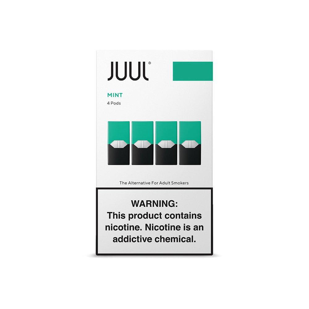 Juul Pods (4 Pack) | Mint (Menta) | 5% de Sales de Nicotina [Juul] | Apegos Perú