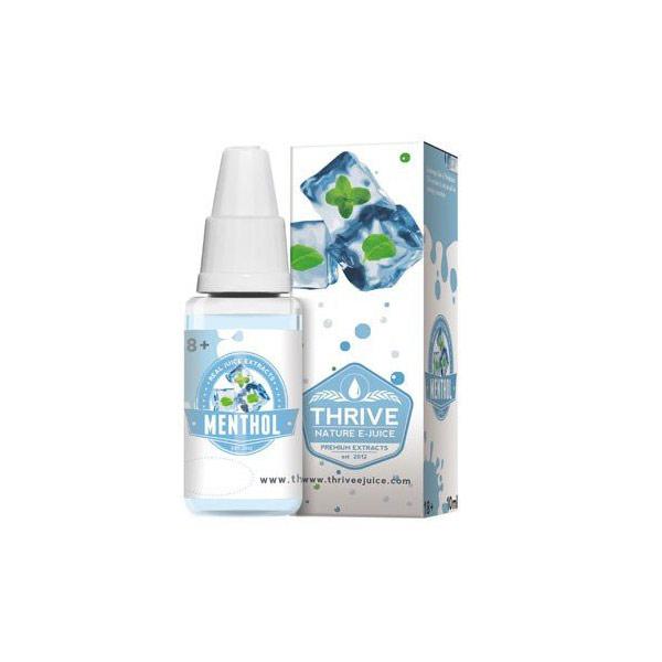 Líquido para E-cig 10ml | Menthol (Menta) | 3mg de Nicotina | 70/30 [Thrive] | Apegos Perú