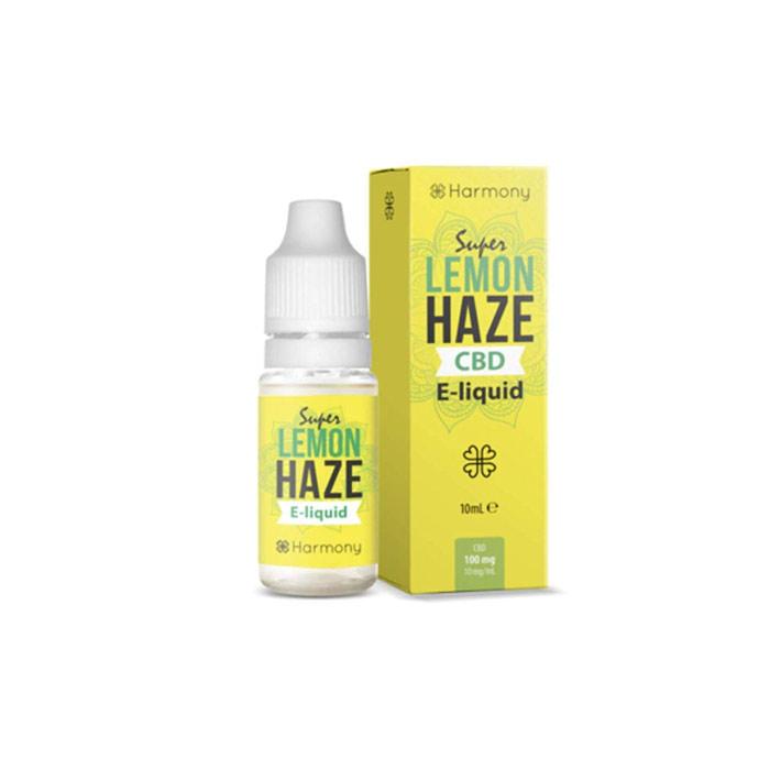 Líquido para E-cig 10ml | Lemon Haze | 300mg de CBD [Harmony] | Apegos Perú