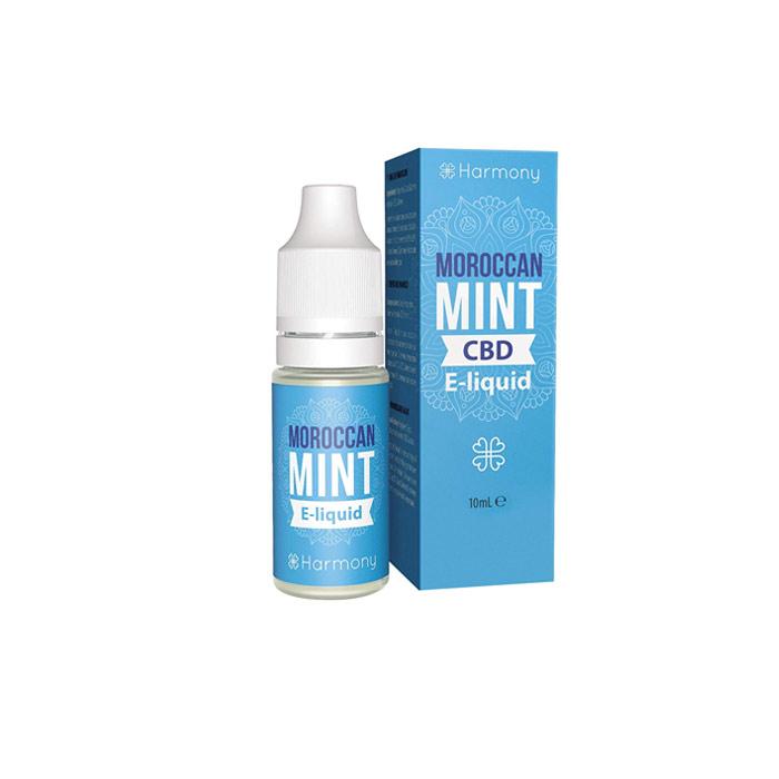 Líquido para E-cig 10ml | Moroccan Mint | 100mg de CBD [Harmony] | Apegos Perú