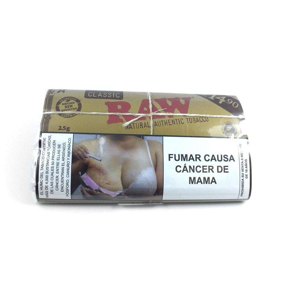 Tabaco Natural | Classic | 25g [Raw] | Apegos Perú