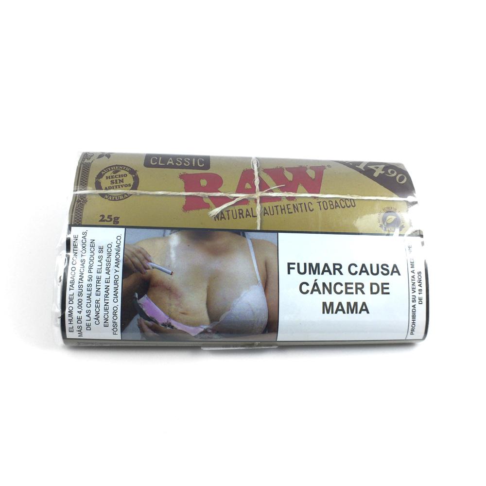 Tabaco Natural   Classic   25g [Raw]   Apegos Perú