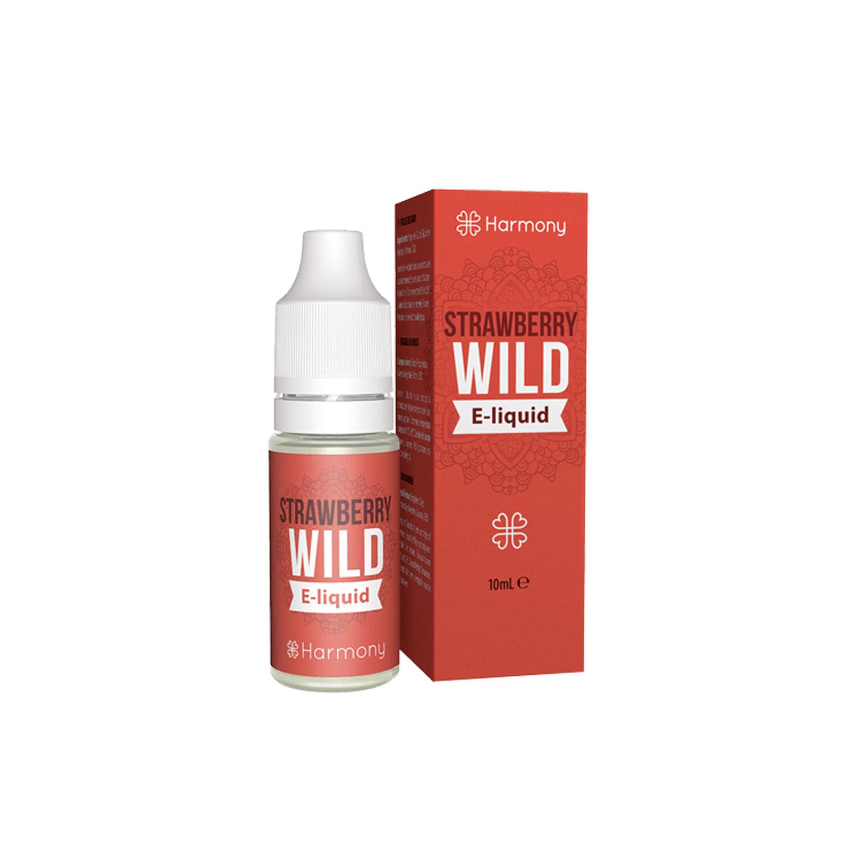 Líquido para E-cig 10ml | Wild Strawberry | 100mg CBD [Harmony] | Apegos Perú