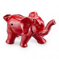 Pipa Elefante | Cerámica | Rojo [Compatible] | Apegos Perú
