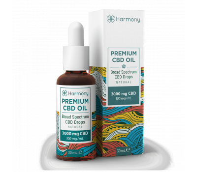 Aceite de CBD Premium | Broad Spectrum - 3000mg CBD [Harmony] | Apegos Perú