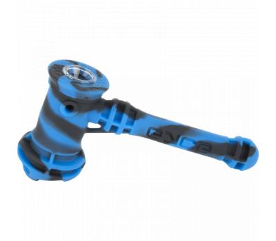 Pipa de Agua o Bubbler | Silicona y Vidrio | Hammer [Eyce] | Apegos Perú