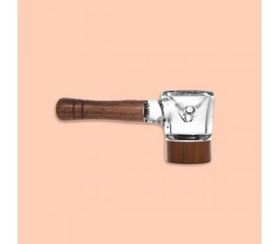 Spoon Pipe - Vidrio con Madera [Marley Natural]   Apegos Perú