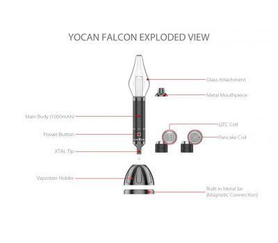 Falcon 6 en 1 - Vape [Yocan] | Apegos Perú