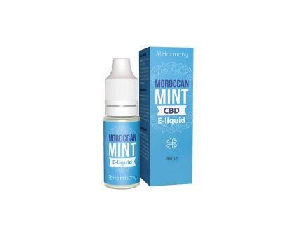 Líquido para E-cig 10ml | Moroccan Mint | 600mg de CBD [Harmony] | Apegos Perú