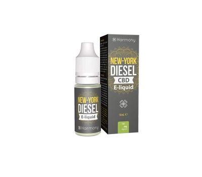 Líquido para E-cig 10ml | New York Diesel | 300mg de CBD [Harmony] | Apegos Perú